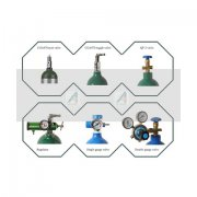 Valves and accessories of Aluminum gas cylinder